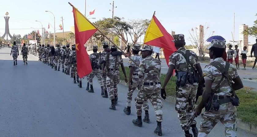 TPLF parade