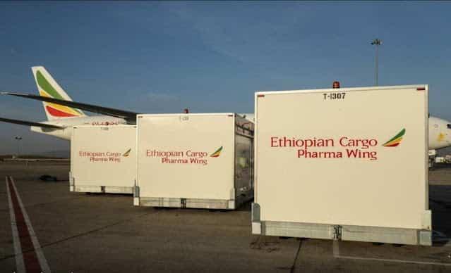 Ethiopian cargo pharma wing