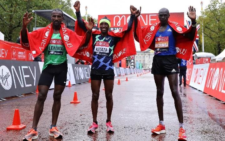 Ethiopian Kitata snatched victory in London Marathon 2020
