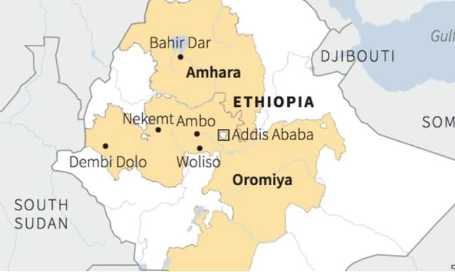 Ethiopian prime minister condemns massacre of civilians in Oromia